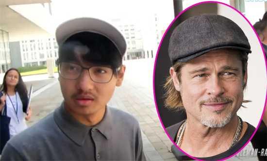 Maddox habló de su relación con su padre Brad Pitt? What?