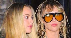 Miley Cyrus y Kaitlynn Carter en The Hills New Beginnings