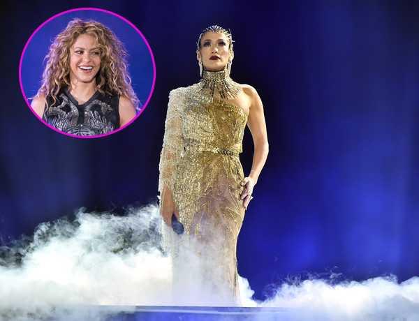 JLo no quiere compartir escenario con Shakira?