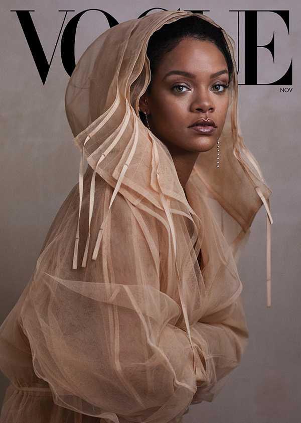 Rihanna portada de Vogue, rumores de embarazo y su libro