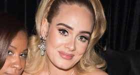 Adele flaca en la fiesta de Drake