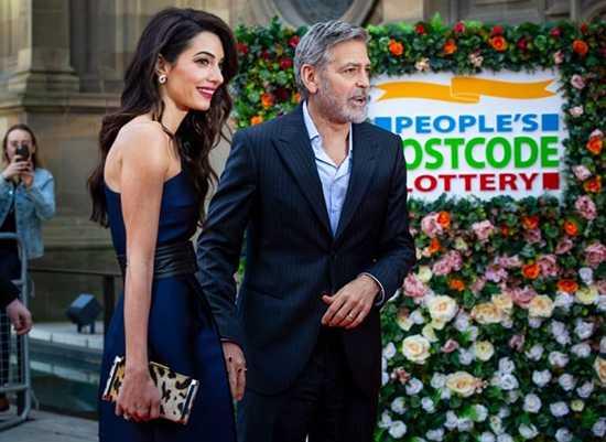 Amal y George Clooney: makeover para su matrimonio LOL!