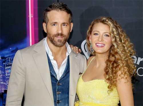 Blake Lively y Ryan Reynolds padres por tercera vez!