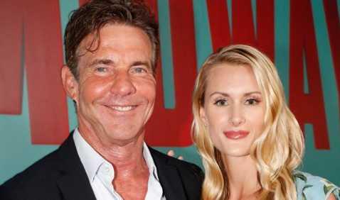 Dennis Quaid de 65 años comprometido con Laura Savoie de 26