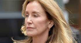 Felicity Huffman salió de prisión