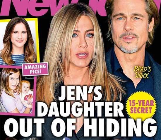 Jennifer Aniston y Brad Pitt tienen una hija secreta! Shock!