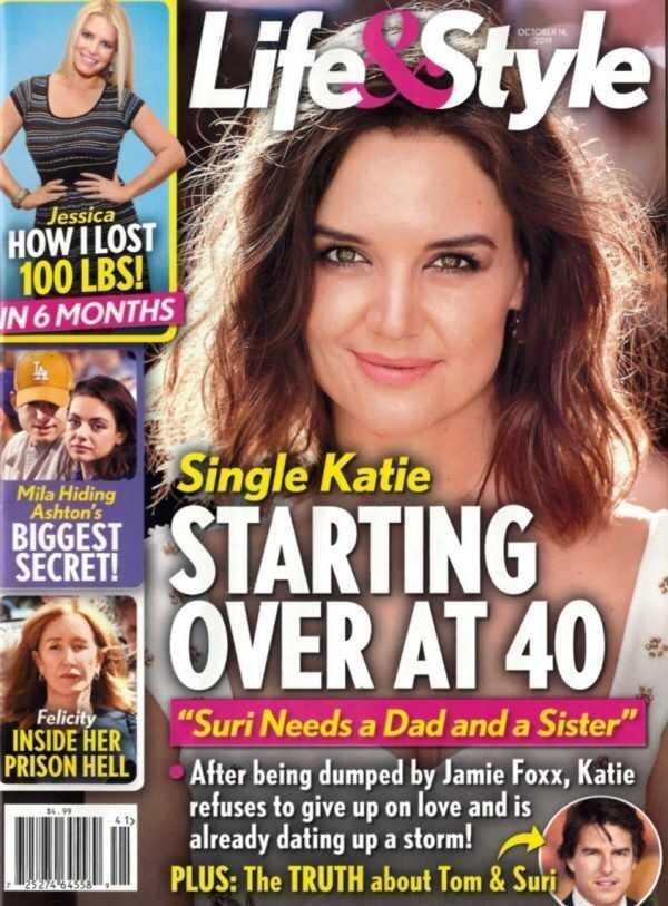 Katie Holmes a partir de 40 - Suri necesita un pai