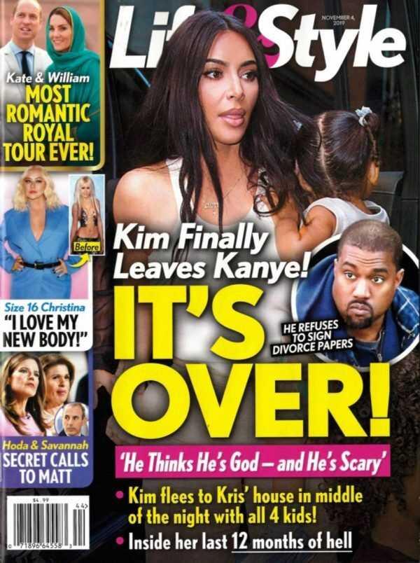 Kim Kardashian deja a Kanye West!