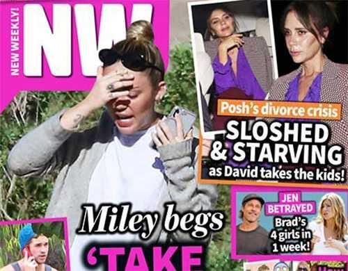 Miley Cyrus le ruega a Liam Hemsworth que la perdone