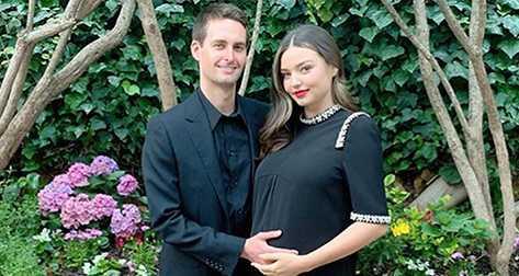 Miranda Kerr y Evan Spiegel tuvieron a su hijo Myles