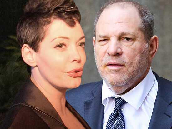Rose McGowan demandó a Harvey Weinstein!