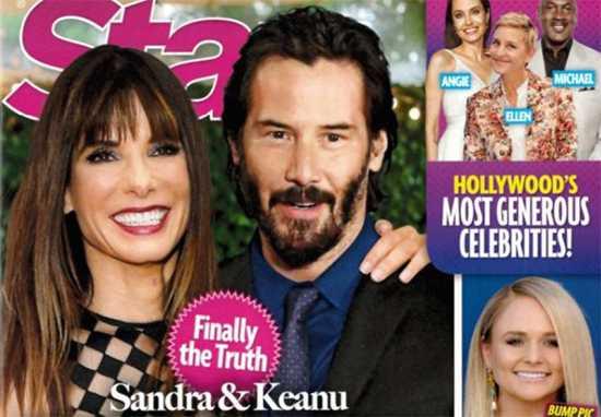 Sandra Bullock y Keanu Reeves La historia de amor jamás contada