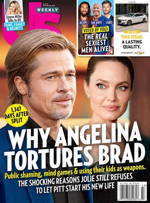 Angelina Jolie tiene resentimientos contra Brad Pitt