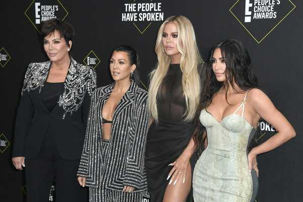 Kim Kardashian en los People's Choice Awards 2019