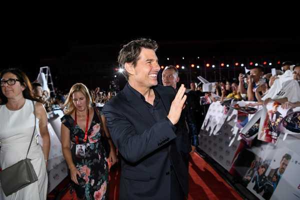Tom Cruise muy viejo para películas de acción
