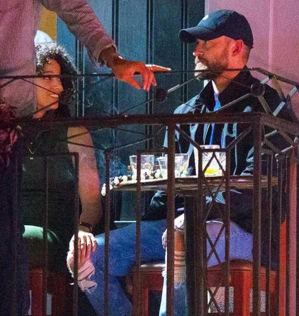 Justin Timberlake de la mano con Alisha Wainwright