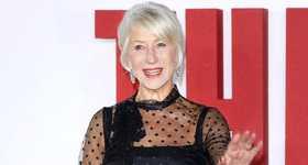 Helen Mirren halagada de ser confundida con novia de Keanu Reeves