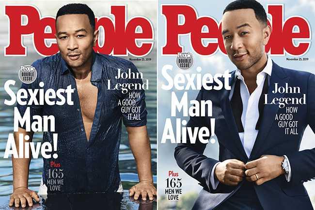 John Legend el Hombre Más Sexy 2019 – People