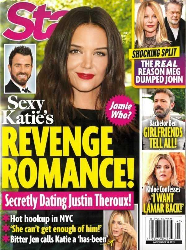 Katie Holmes saliendo con Justin Theroux en secreto!