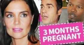 Katie Holmes embarazada de Justin Theroux o Jamie Foxx?