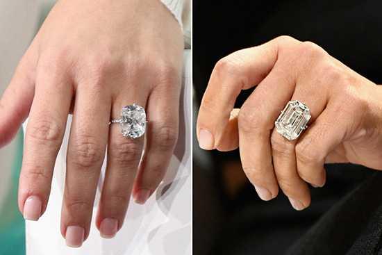 Kim Kardashian posó con su anillo de compromiso robado