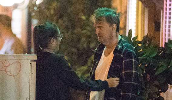 Friends Matthew Perry desaliñado en LA