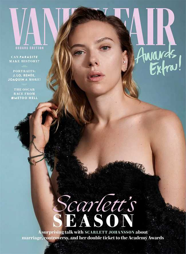 Scarlett Johansson sigue defendiendo a Woody Allen Vanity Fair