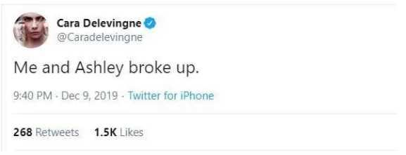 Cara Delevingne y Ashley Benson terminaron? Nope