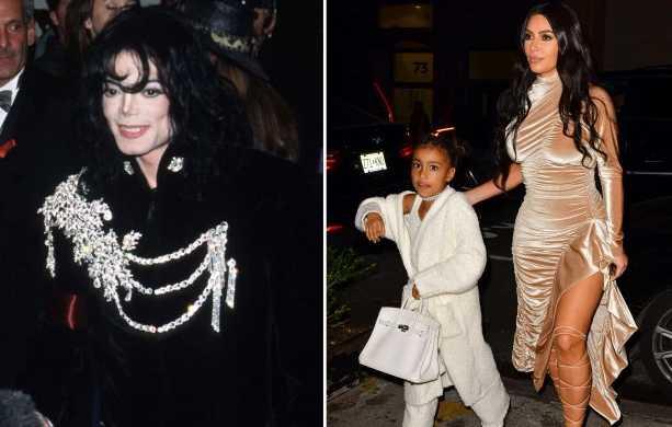 Kim Kardashian compró una chaqueta de Michael Jackson para North