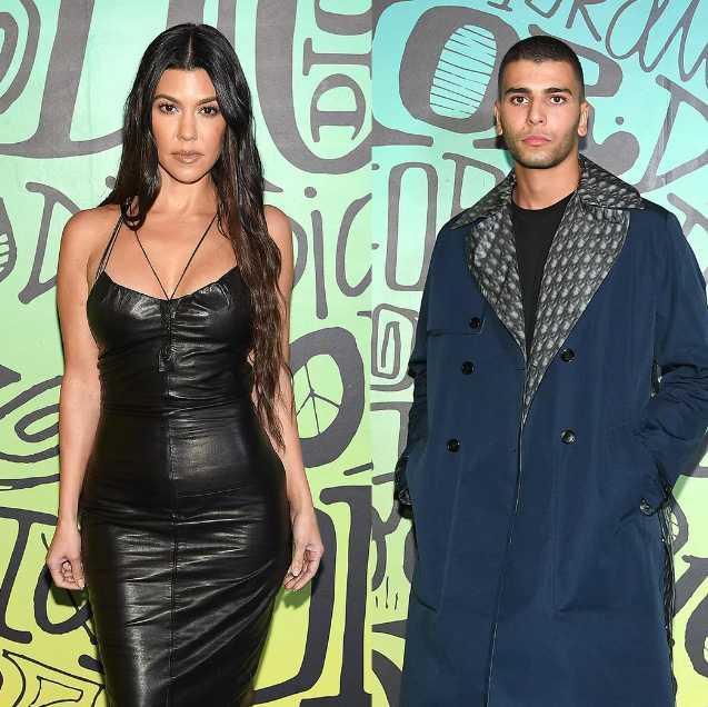 Kourtney Kardashian y Younes Bendjima juntos en Miami