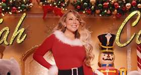 Mariah Carey estrena nuevo vídeo para su famosa canción navideña