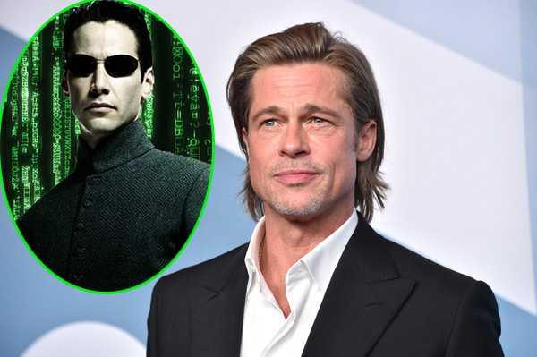 Brad Pitt rechazó ser Neo en The Matrix