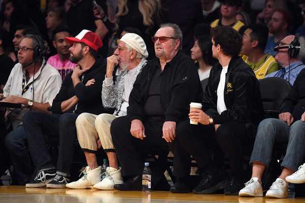 Jack Nicholson reacciona a la muerte de Kobe Bryant