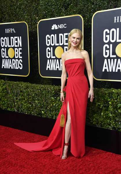 Nicole Kidman en los Golden Globes 2020