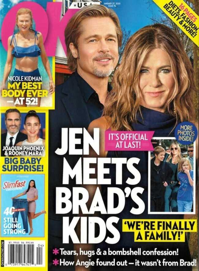 Jennifer Aniston conoce a los hijos de Brad!