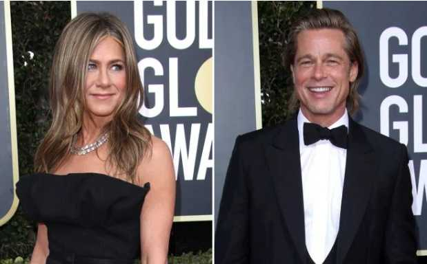 Jennifer Aniston y Brad Pitt reunidos en after party Golden Globes 2020