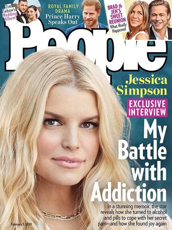 Jessica Simpson habla de su adicción al alcohol y pastillas