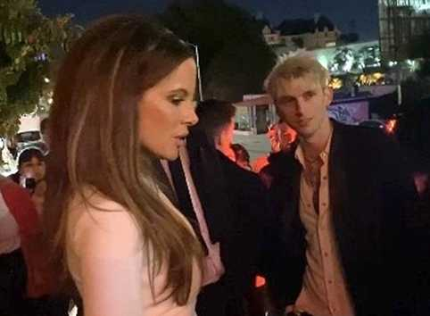 Kate Beckinsale con Machine Gun Kelly