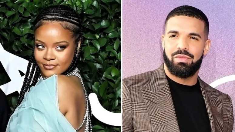 Rihanna coquetea con la idea de una relación con Drake?
