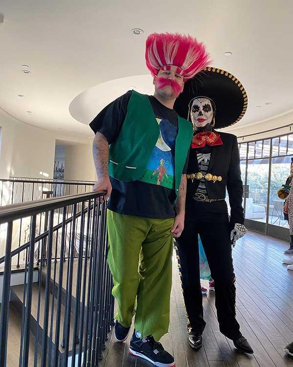 Rob y Kris en Halloween 2019