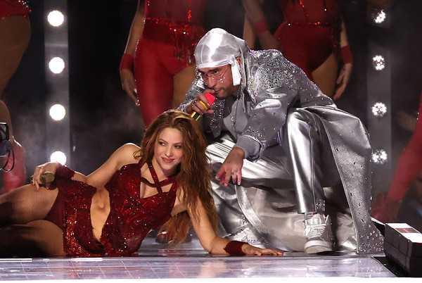 Shakira y JLo en el medio tiempo Super Bowl 2020
