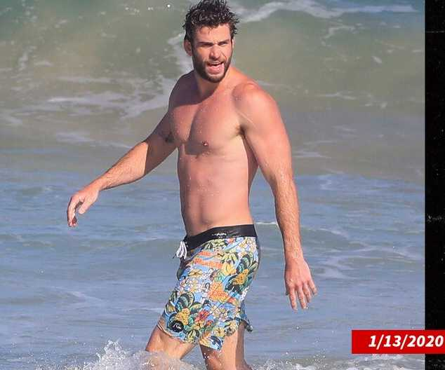 Liam Hemsworth fuerte y musculoso