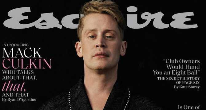 Macaulay Culkin habla de Michael Jackson en Esquire