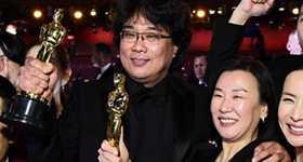 Ganadores Oscars 2020, Parásitos, Joaquin Phoenix, Brad Pitt