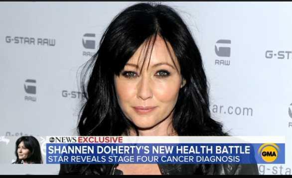 Shannen Doherty revela que volvió el cáncer