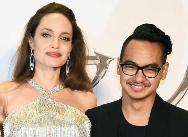 Angelina Jolie y su hijo Maddox se reúnen por el coronavirus