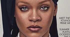 Rihanna con durag en Vogue UK, quiere muchos hijos