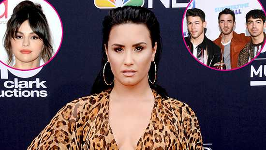 Demi Lovato no habla con Selena Gomez o los Jonas Brothers