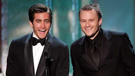 Heath Ledger no quería presentar los Oscars por chistes de Brokeback Mountain