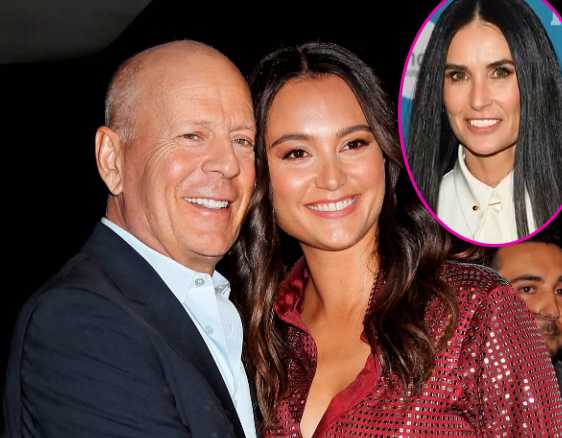 Bruce Willis y Emma Heming no tienen problemas